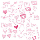 Heart symbols Stock Photos