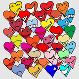 Heart symbols Royalty Free Stock Images