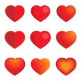 Heart symbols Royalty Free Stock Photography