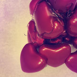 Heart with syrup 3d Royalty Free Stock Images