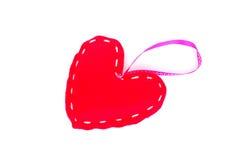 Heart tag Stock Photo