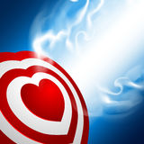 Heart target Royalty Free Stock Images