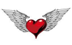 Heart Tattoo Stock Photo