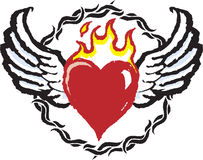 Heart Tattoo Stock Image