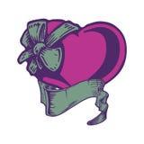 Heart tattoo. Royalty Free Stock Photography