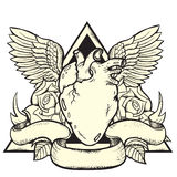 Heart Tattoo Stock Photos