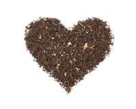 Heart Of Tea stock image