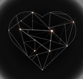 Heart technology Royalty Free Stock Image