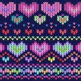 Heart texture dark backgroun. Vector graphic illustration design art Royalty Free Stock Photos