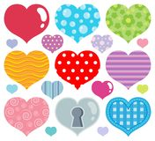 Heart theme image 7 Stock Photography