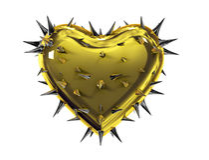 Heart thorns Royalty Free Stock Photo
