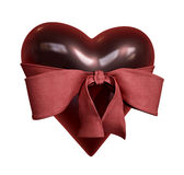 Heart with Tie Royalty Free Stock Image