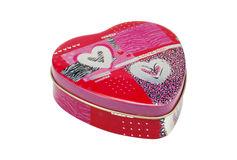 Heart Tin Royalty Free Stock Photos