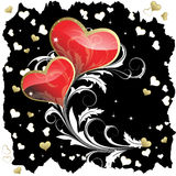 Heart to the St.Valentine Royalty Free Stock Photo