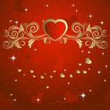 Heart to the St.Valentine Royalty Free Stock Photography