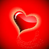 Heart to the St.Valentine Stock Photo