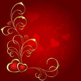 Heart to the St.Valentine Stock Photos