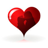 Heart to the St.Valentine Royalty Free Stock Image