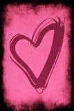 Heart to tender grunge Stock Photos