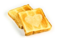 Heart Toast Royalty Free Stock Image