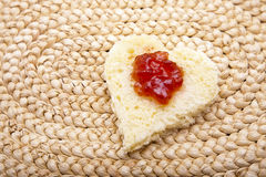 Heart Toast Stock Photos