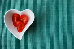 Heart tomatoes Royalty Free Stock Photography