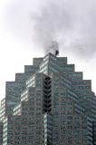 In the heart of Toronto. A skyscraper office building in Downtown Toronto stock image