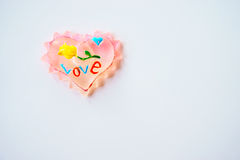 Heart, toy, decoration Royalty Free Stock Photos