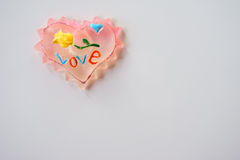 Heart, toy, decoration Stock Image