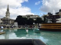 The Heart of Trafalgar Square Royalty Free Stock Images