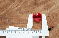 Heart In Trammel Royalty Free Stock Photography