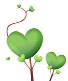 Heart tree Stock Photography