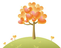 Heart tree Stock Photos