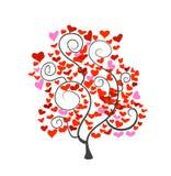 Heart tree Stock Photography