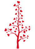 Heart tree Royalty Free Stock Photos