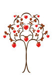 Heart tree Royalty Free Stock Photography