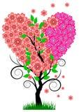 Heart Tree Royalty Free Stock Photo