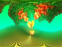 Heart Tree Stock Photo