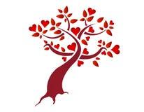 Heart tree illustration design Royalty Free Stock Photography