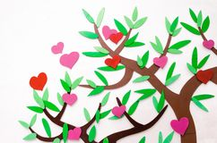 Heart tree Royalty Free Stock Photos