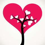 Heart tree stock  Royalty Free Stock Photography