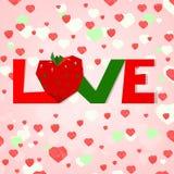 Heart tree vetor Stock Image