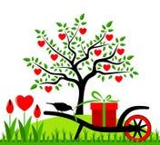 Heart tree Stock Photos