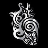 Heart. Tribal pattern Stock Photography