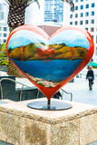 The Heart in Union Square, San Francisco,California,USA Stock Photography