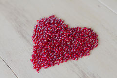 Heart of Valentine´s day Royalty Free Stock Photos
