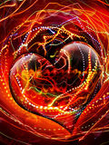 Heart valentine Stock Images