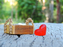 Heart,Valentine background Stock Photography