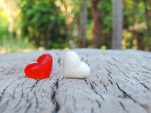 Heart,Valentine background Stock Photography