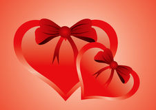 heart valentine day vector illustration Stock Image